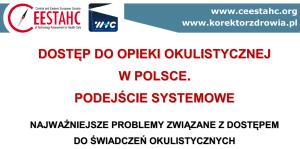 dostęp do opieki okulistycznej w Polsce