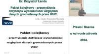 Pakiet kolejkowy – przemyślenia dotyczące wykonalności względem danych gromadzonych przez WHC