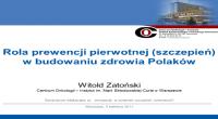 Prof. Witold Zatoński_ppt_mini
